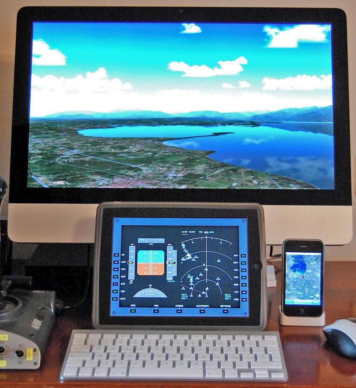 Home cockpit un glass cockpit in casa vfrmagazine for Simulatore di costruzione di case online